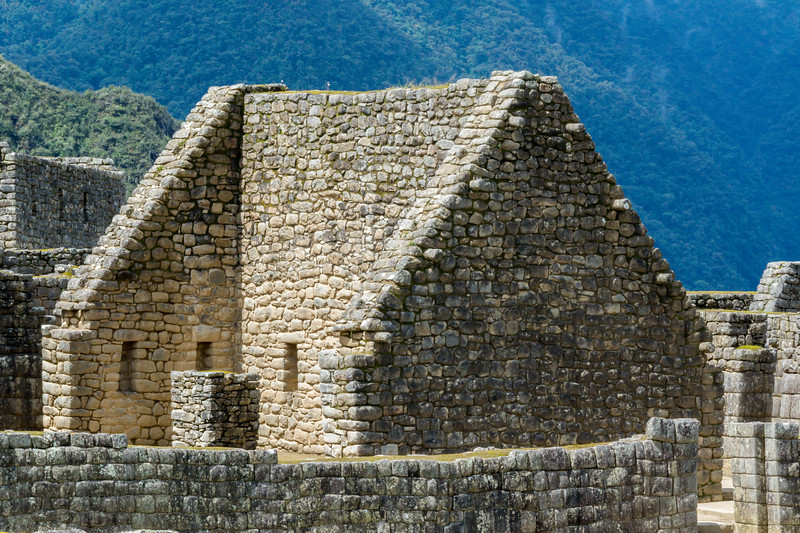 Remains of Building at Machu Picchu