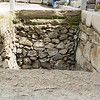 Partially Excavated Terrace Foundation