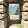 View Through a Machu Pichu Window
