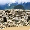 Typical Stonewall at Machu Picchu