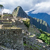 Huayna Picchu Seen Over Ruins of Machu Picchu