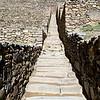 Stairs up at Ollantaytambo