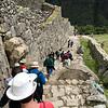Walking Down from Machu Picchu