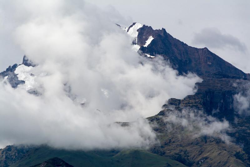 Peruvian Mountain Peak