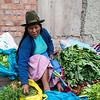 Vendor at Cusco Market