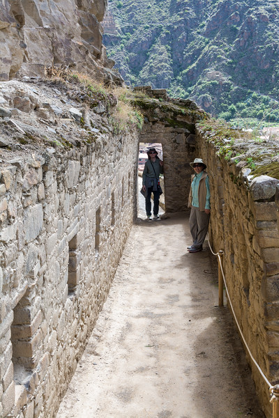 Within Ollantaytambo Ruins