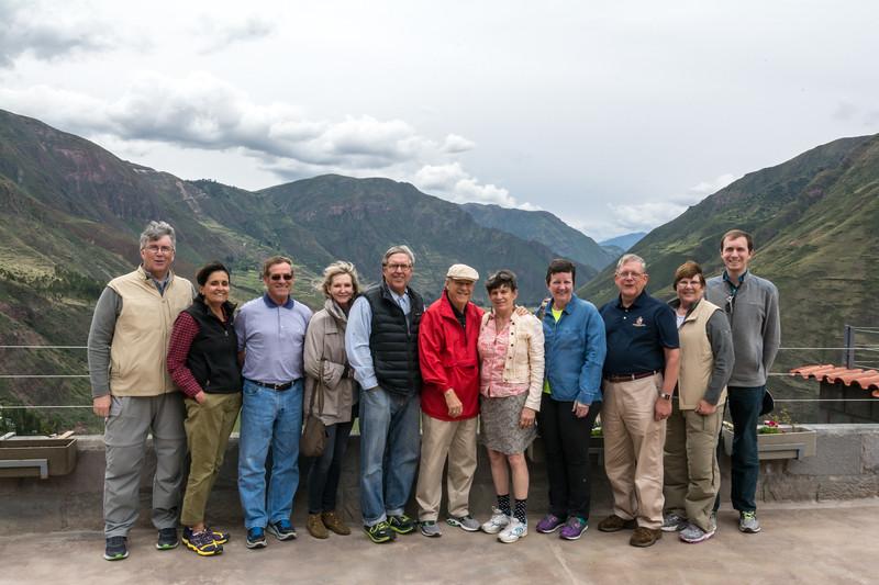 Machu Pichu Trip Participants