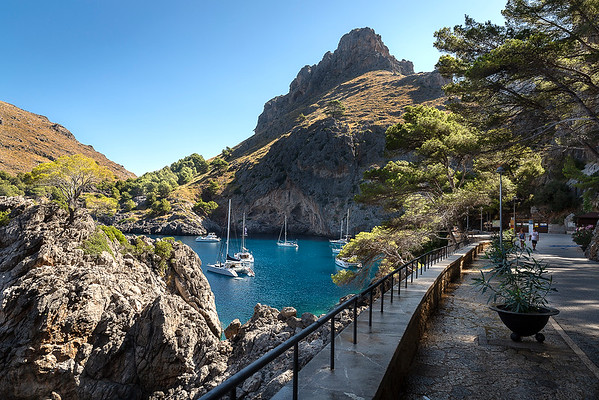 Walkway to Torrent de Pareis Gorge/Beach