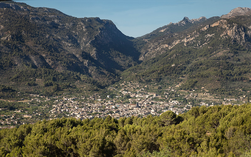 View of Soller from above