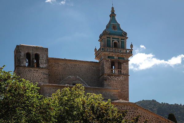 The Royal Carthusian Monastery of Valldemossa , where Chopin and George Sand spent the winter of 1838-9.