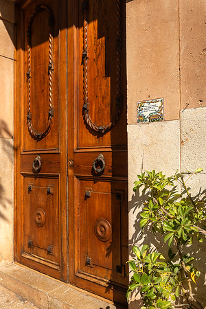 Beautiful hand carved doors