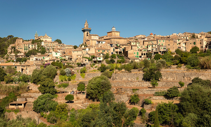 Another beautiful view of Valldemossa before leaving town