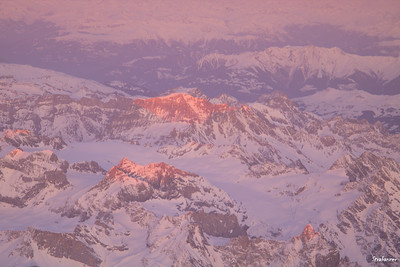 Over the Alps en route from ZRH to Malta on Airbus A320-200  9H-AEN of Air Malta  03/22/2019 This work is licensed under a Creative Commons Attribution- NonCommercial 4.0 International License