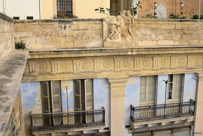 Malta.    Valletta Balconies.   03/23/2019 This work is licensed under a Creative Commons Attribution- NonCommercial 4.0 International License