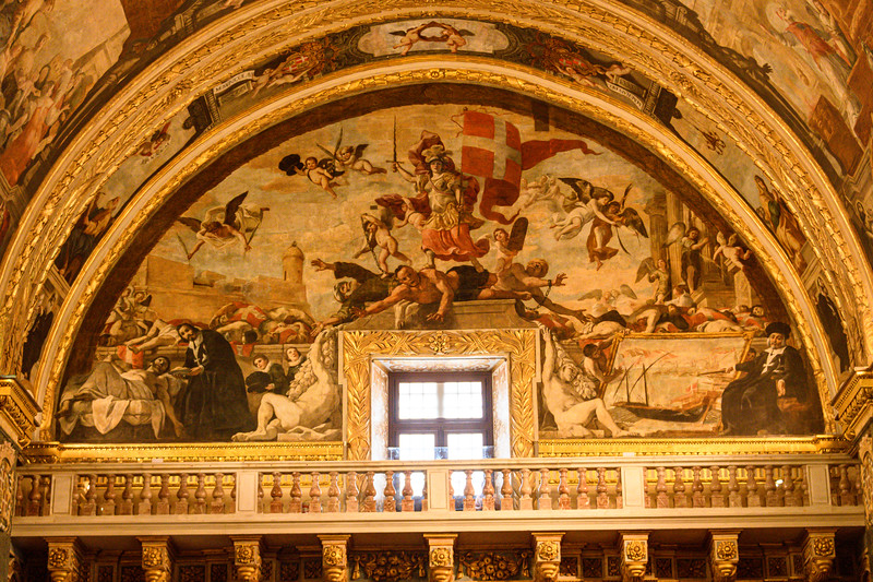 Painting on Co-Cathedral Wall