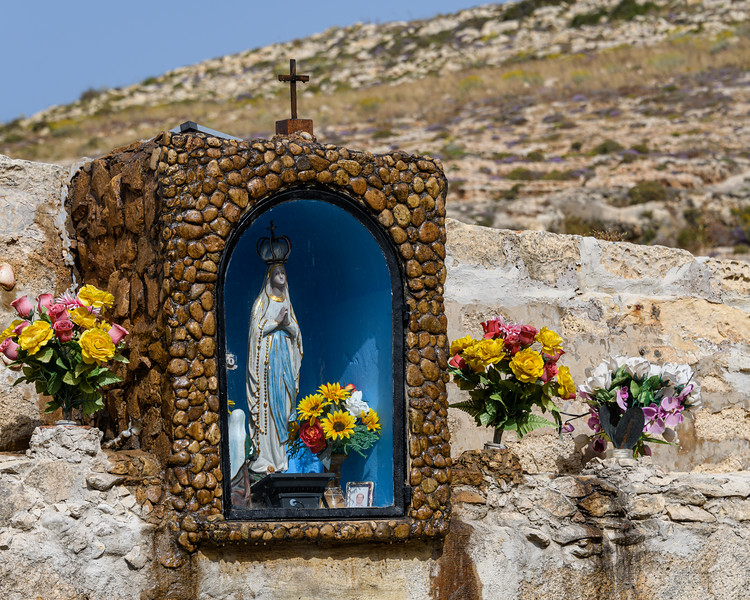 Small Shrine at Blue Grotto