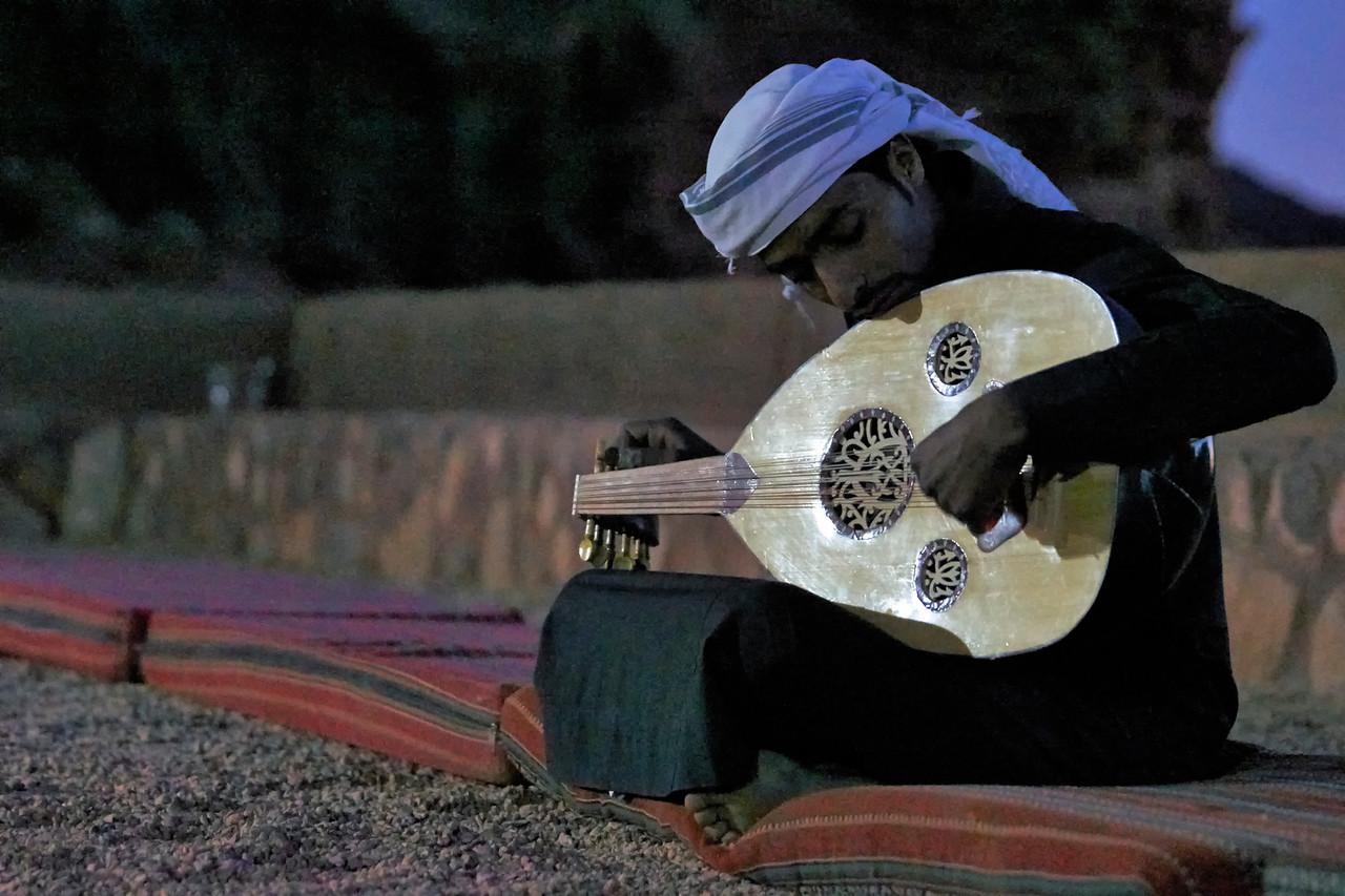 Entertainer bedouin camp