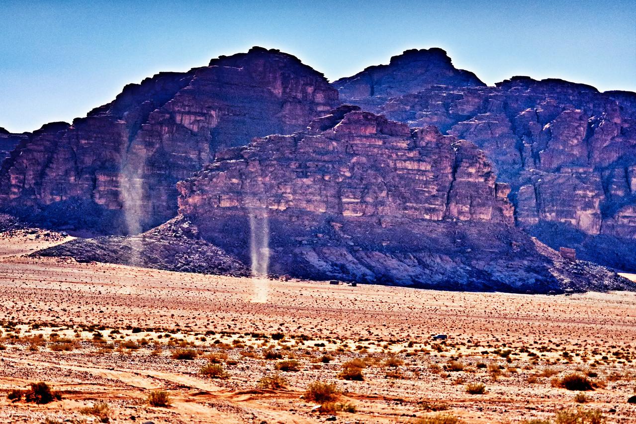 Dust Devils Wadi Rum