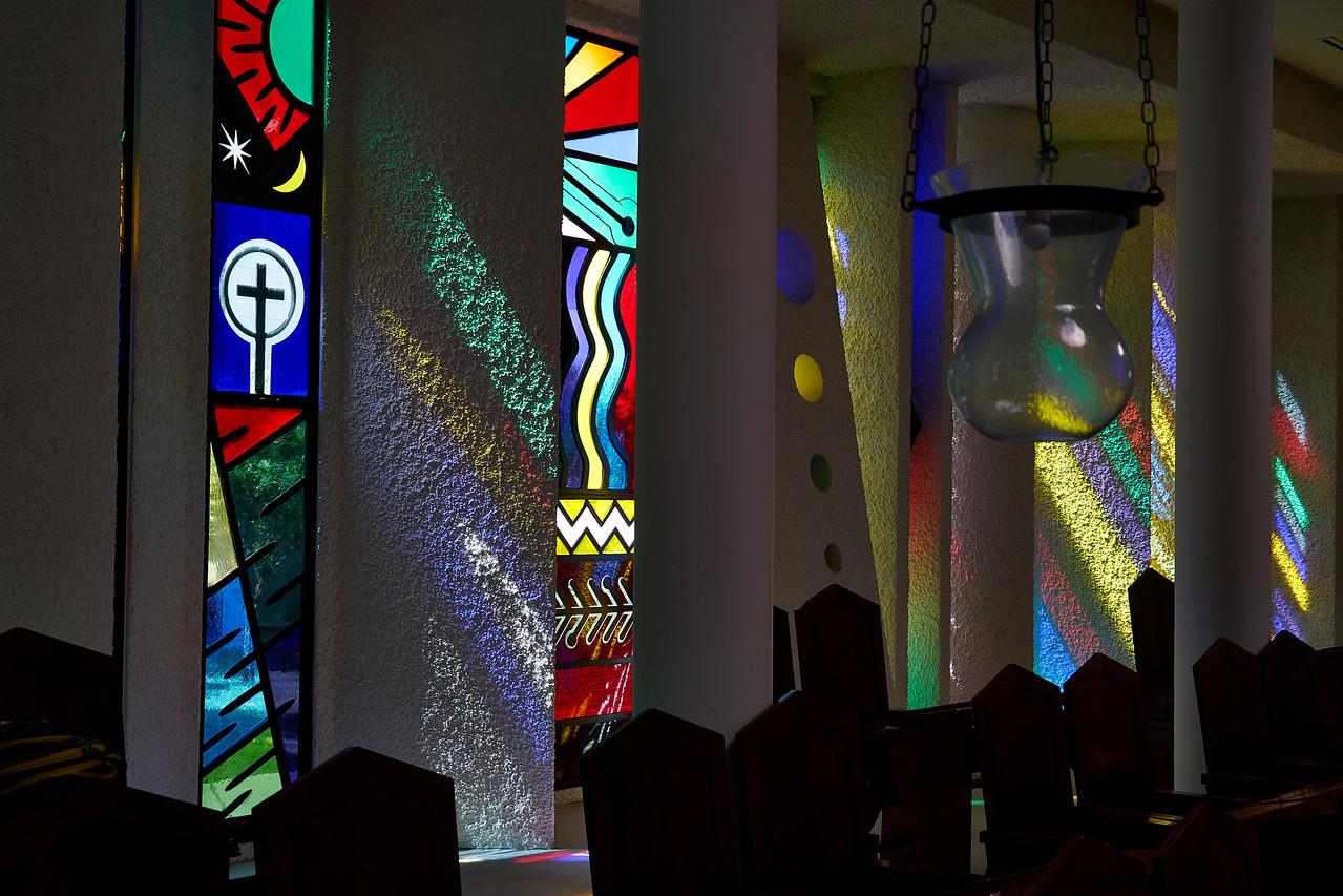 Church Interior near Galilee