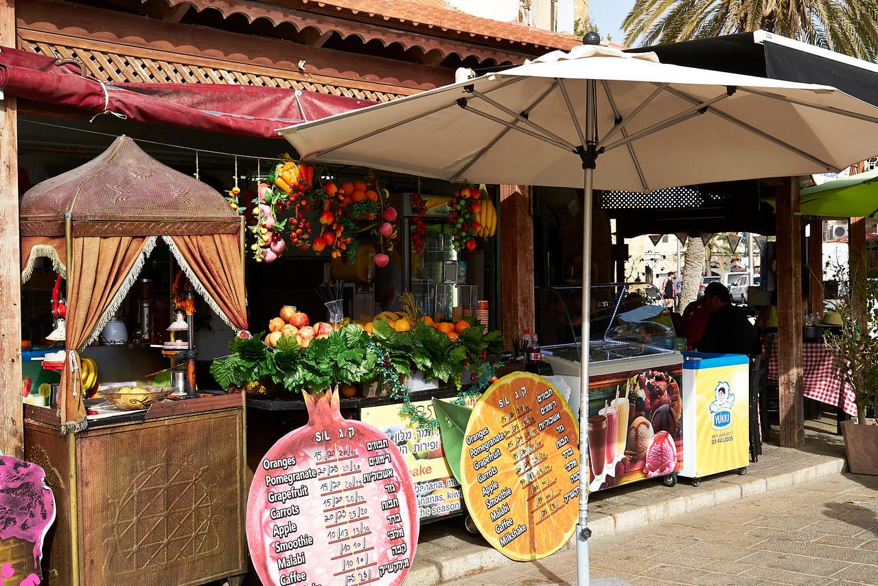 Sidewalk cafe Tel Aviv