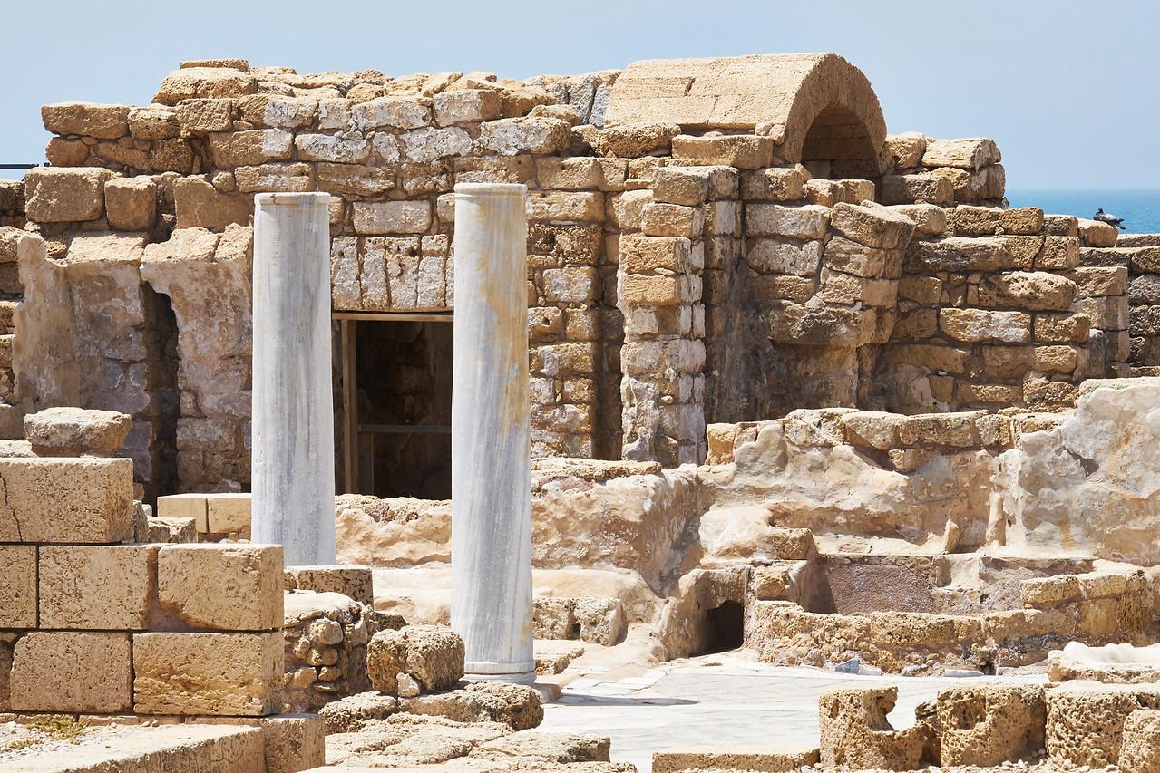 partial restoration Caesaria