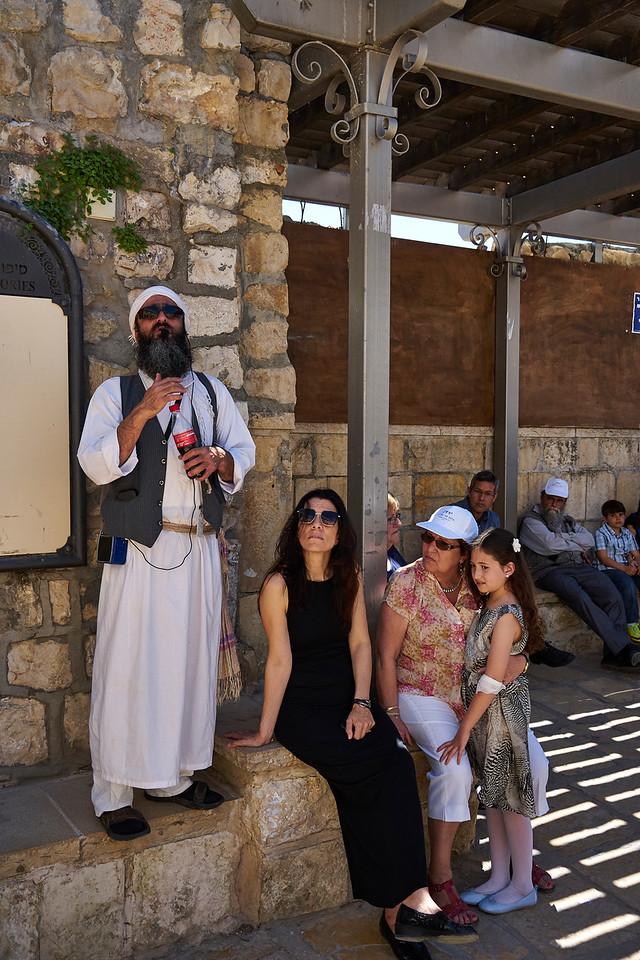 Tour leader - Safed