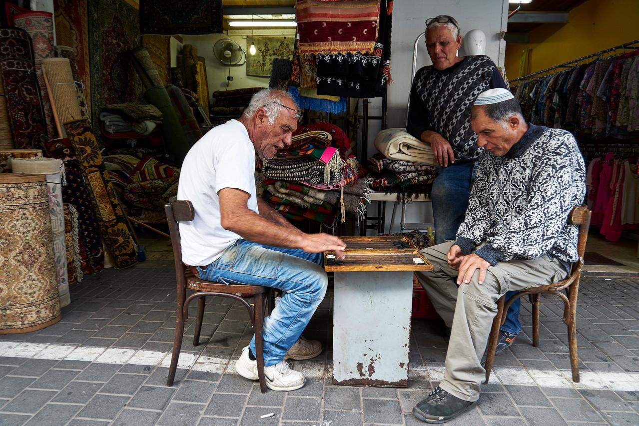 Sidewalk Backgammon