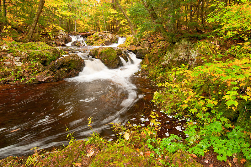 TRMI-10023: Overlook Falls on Little Carp River