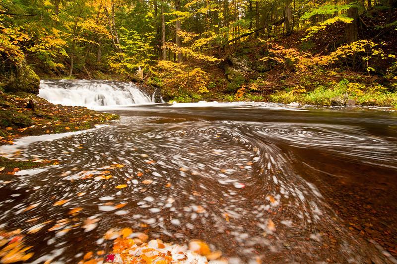 TRMI-10029: Greenstone Falls and fall color