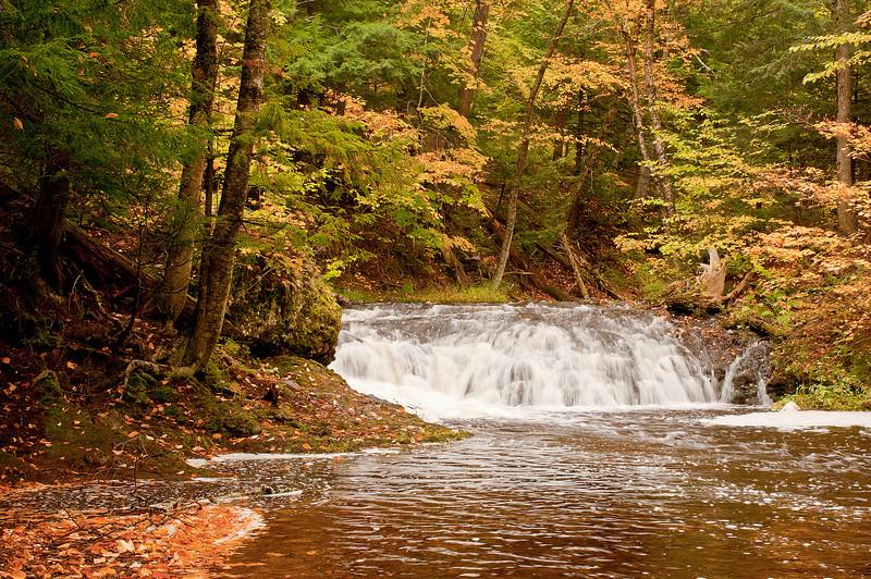 TRMI-10025: Greenstone Falls in the Porkies