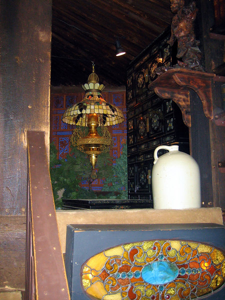 Stain Glass and Jug