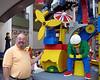 John with Legos