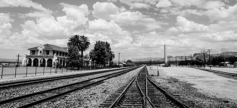 Kelso Union Pacific Railway Station - Mojave Desert
