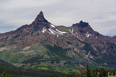 Pilot and Index Peak. Taken along the Beartooth Highway.