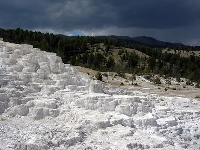 Minerva Terrace, Mammoth Hot Springs, Yellowstone National Park