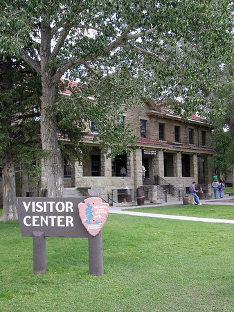 Albright Visitor Center, Fort Yellowstone, Yellowstone National Park