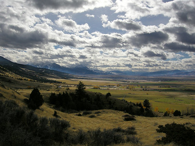 Paradise Valley North of Yellowstone National Park