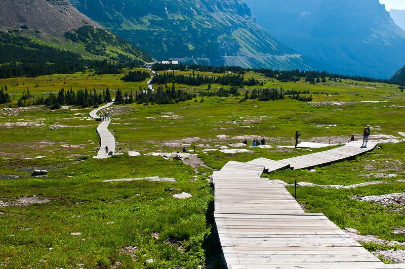 TRMT-12154: Boardwalk on Hidden Lake trail