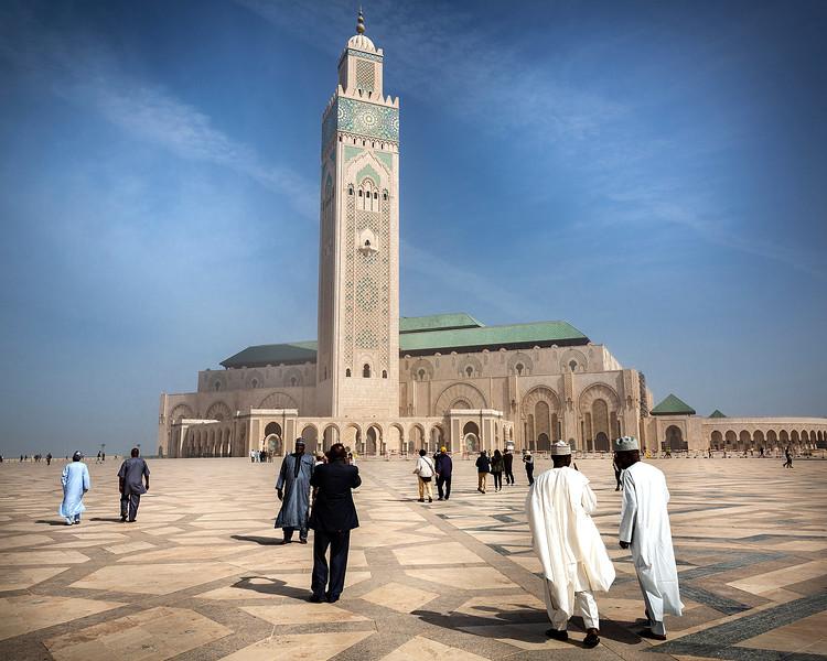 Hassan II Mosque - Casablanca, Morocco