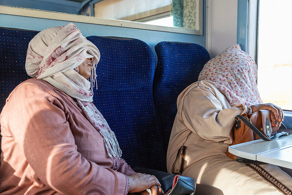 8 hour train ride leaving Marrakesh to Fez.......it was a talkative ride:)
