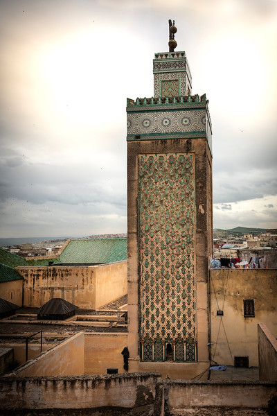 View from restaurant - Mosque of Medersa Bou Inania