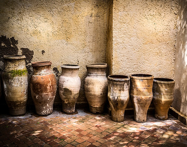 Old classic  vase pottery - Morocco