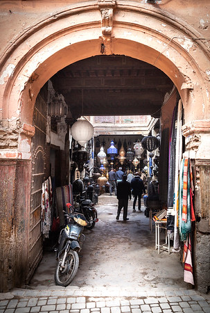 One of the gates entering the medina (old city)