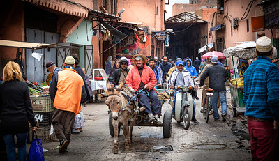 Motor bikes were a REAL hassle on the narrow congested streets....and they were EVERYWHERE!