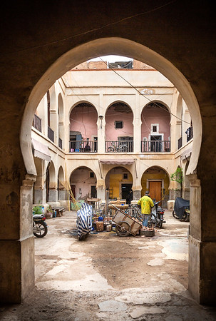 Residental courtyard