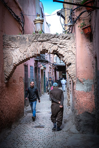 Typical medina street