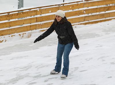 Gorky Park skating rink.