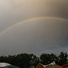 Rainbow over Mt Airy