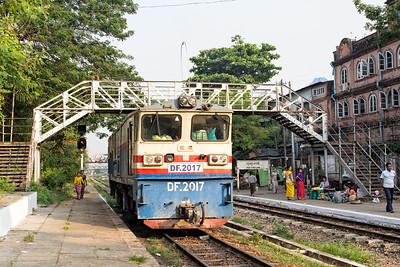 Phaya Lan Train Station