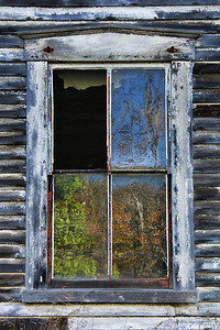 Grungy Window